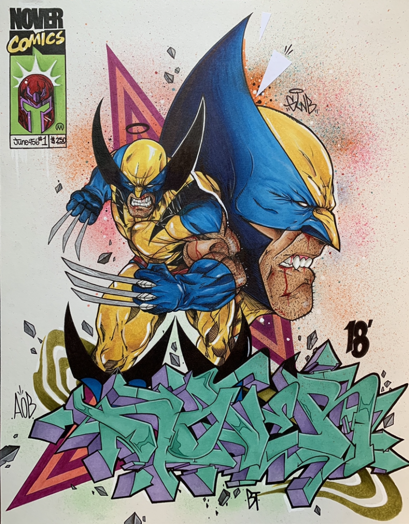 Wolverine x Nover Blackbook Art