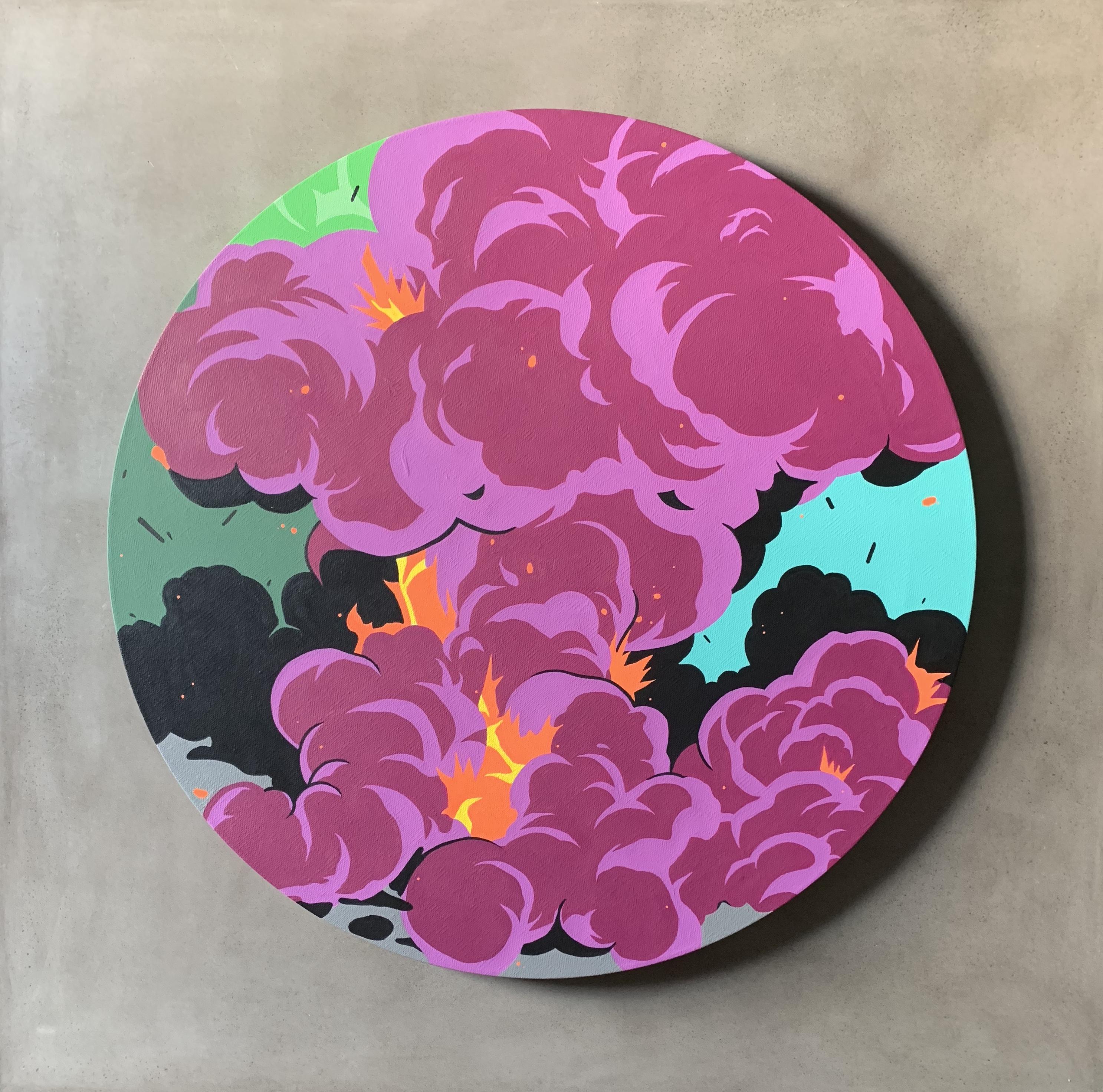 Nover art explosion abstract graffiti new york