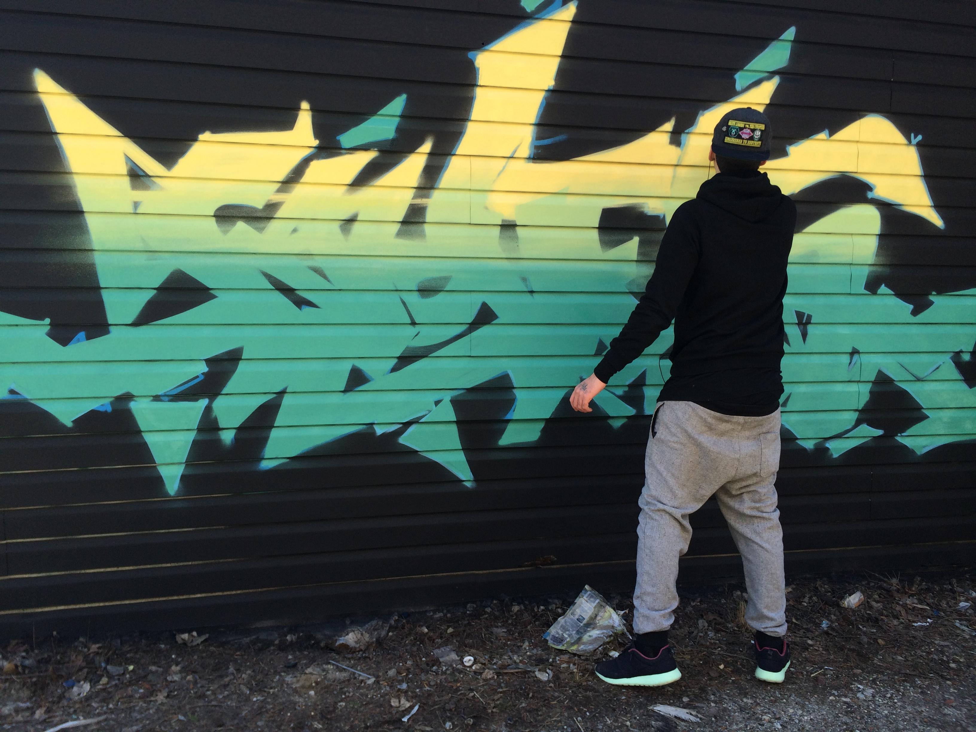 NOVER in progress,, Brooklyn, NY. 2015.