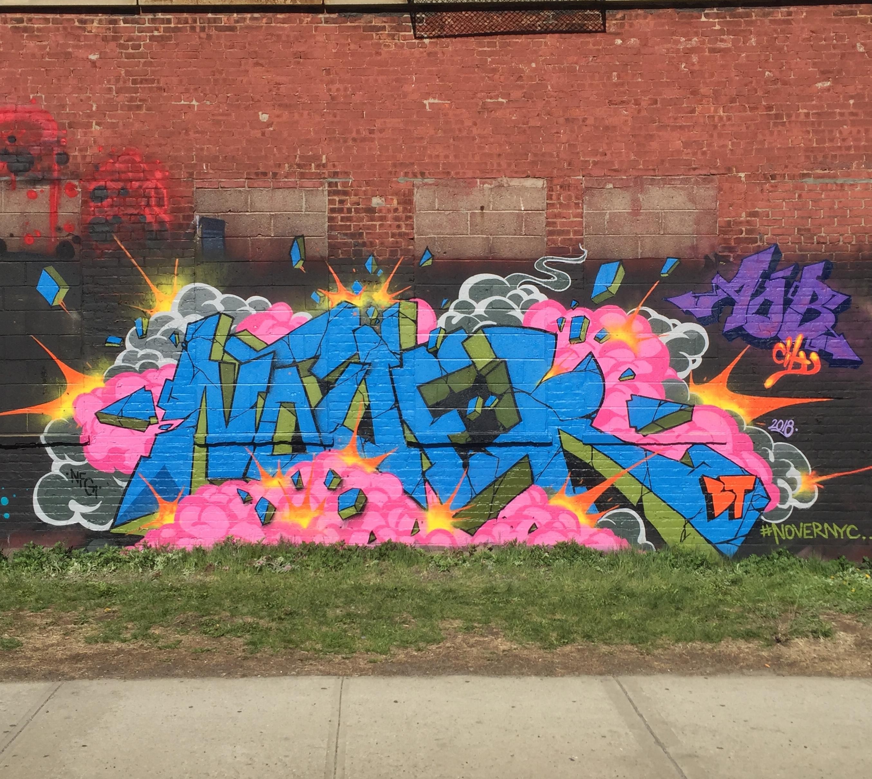 NOVER, Brooklyn, NY. April 2018.
