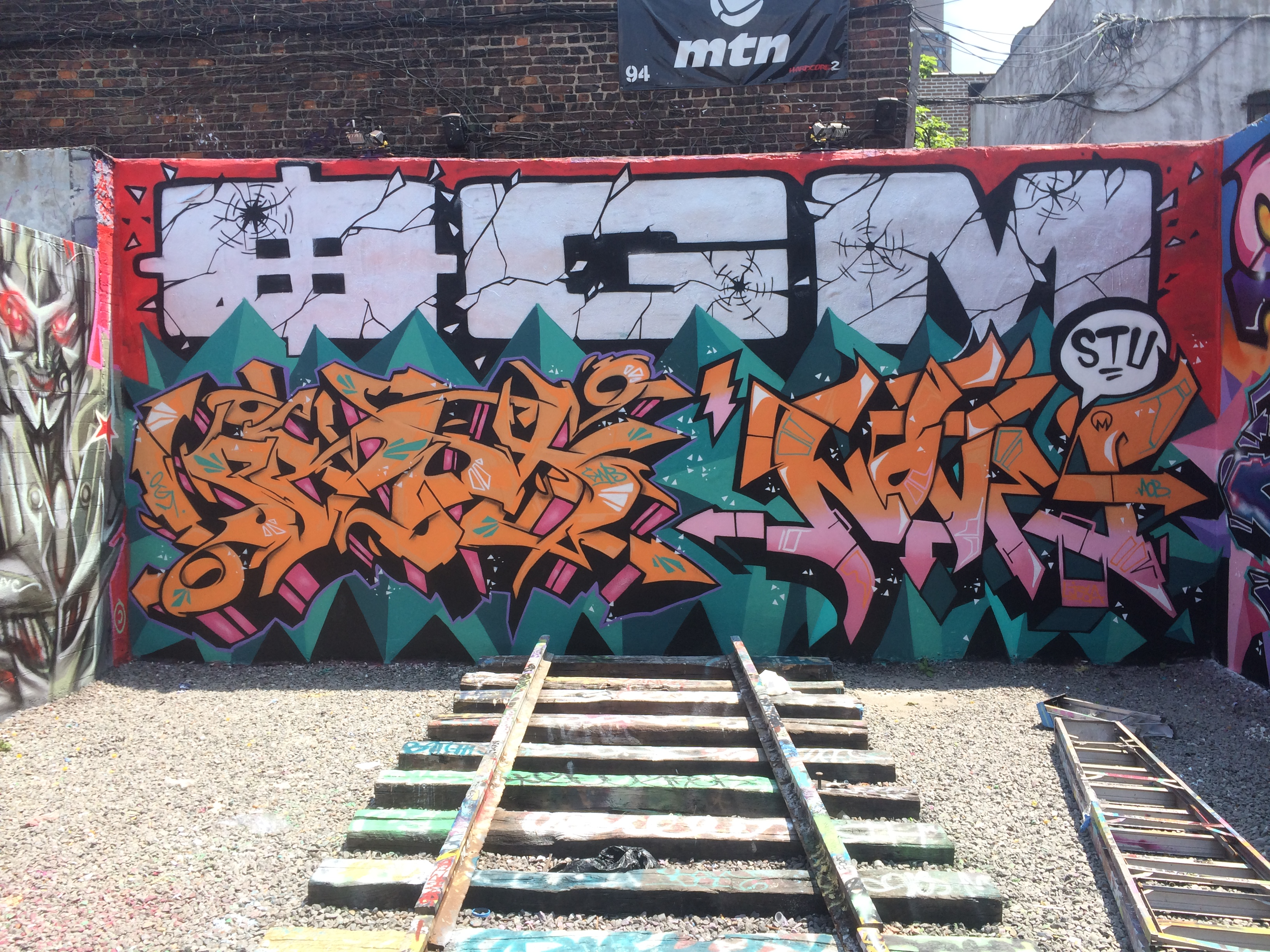 Prox x Nover Production, OGM Event at Tuff City, Bronx, NY.  2013.
