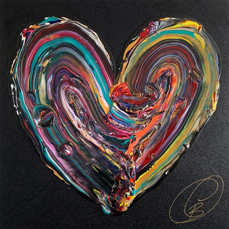 Mon bel amour; Nom de l'artiste : Cynthia Coulombe Bégin