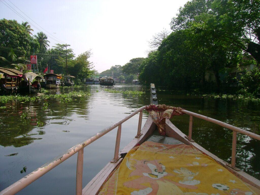On way to Lake Vembanad