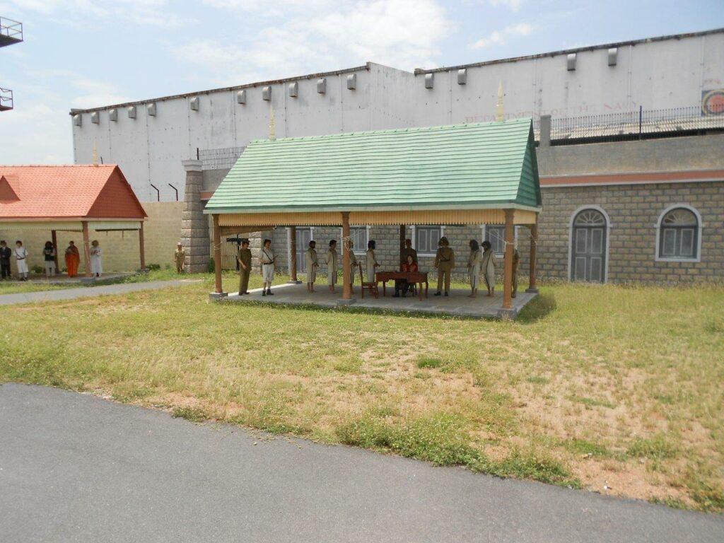Shooting location of a Jail at ramoji film city