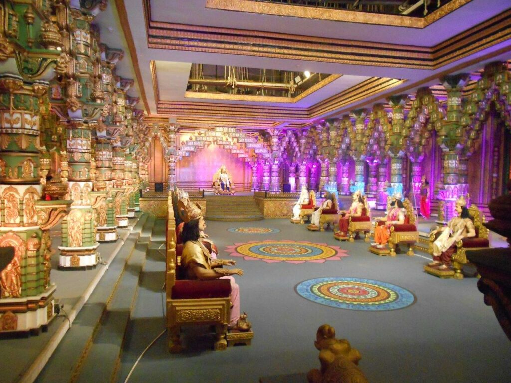 Set of Mahabharata at ramoji film city