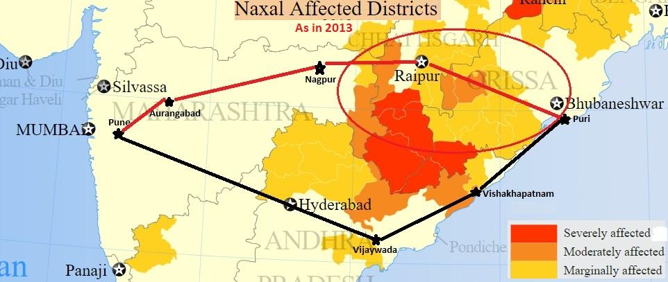 Naxal Impacted Areas
