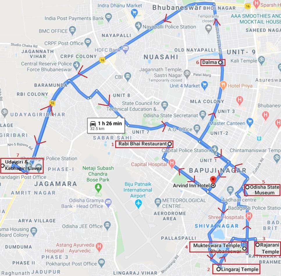 Bhubaneshwar - Points of Interest