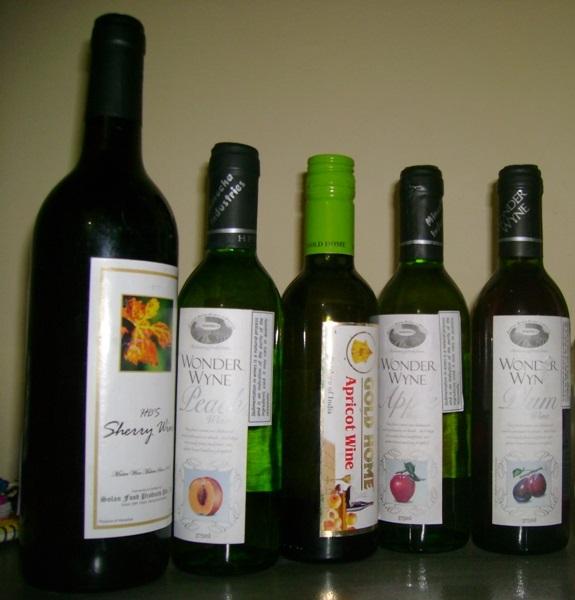 Local Fruit Wines