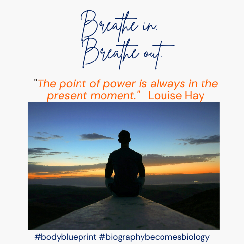 The power of breathing, intently