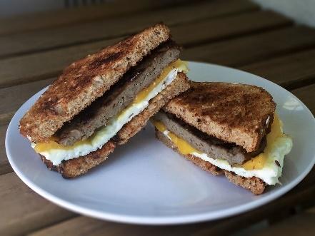 keto breakfast sandwich