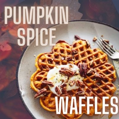 keto pumpkin spice waffle recipe