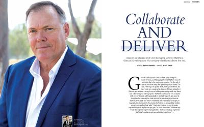 Matthew Glascott – CEO magazine February 2018