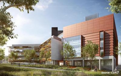A fresh modern landscape for the CSIRO Black Mountain Campus