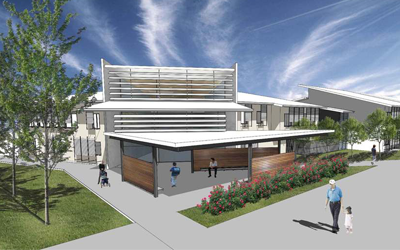 Building the new Caloundra South State School