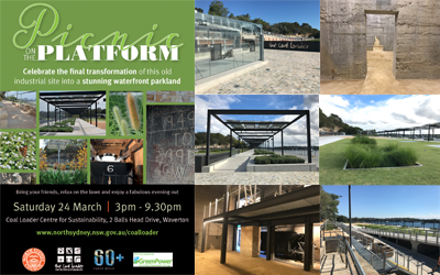 Coal Loader Opens Sat 24th March 2018