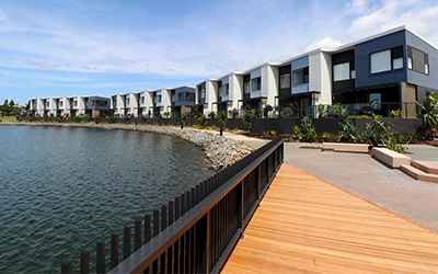 Closing out Springbank Rise for Lendlease
