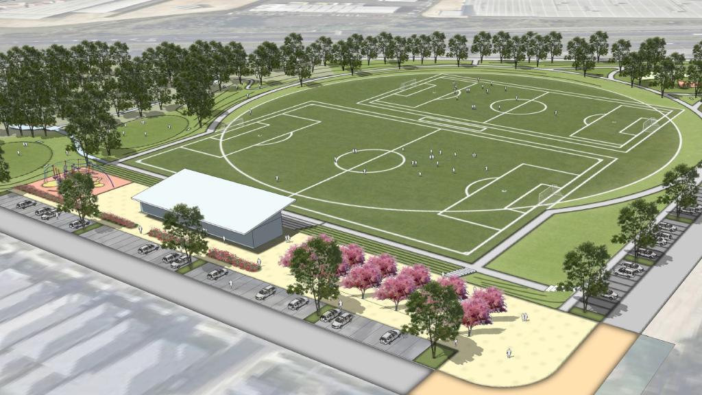 Project win: Cirillo Reserve Sports Complex