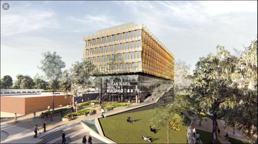 The University of Sydney – Susan Wakil Health Building