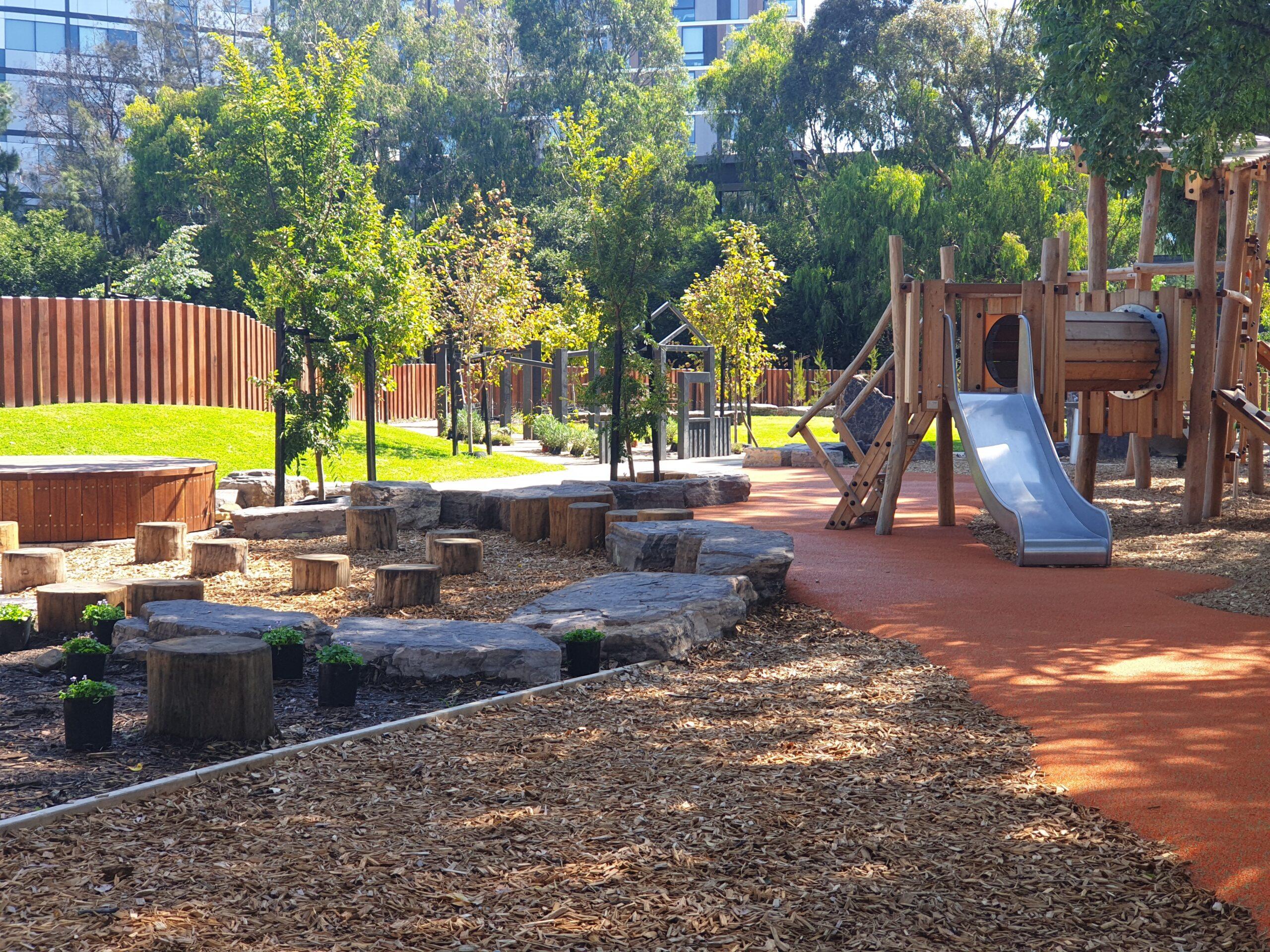 Victory Square Toorak Park Upgrade