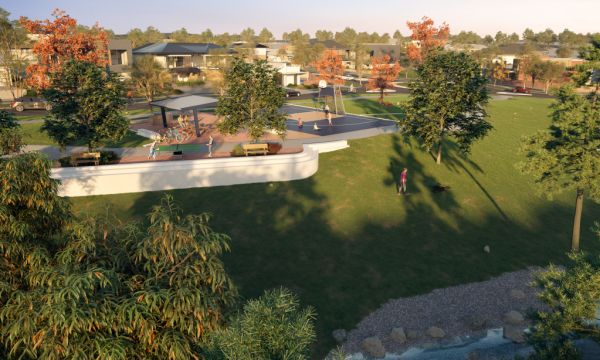 Streetscapes for Canberra's newest subdivisions