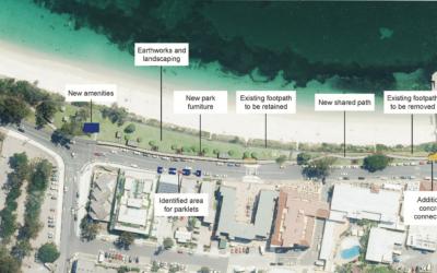 Shoal Bay Foreshore Upgrade