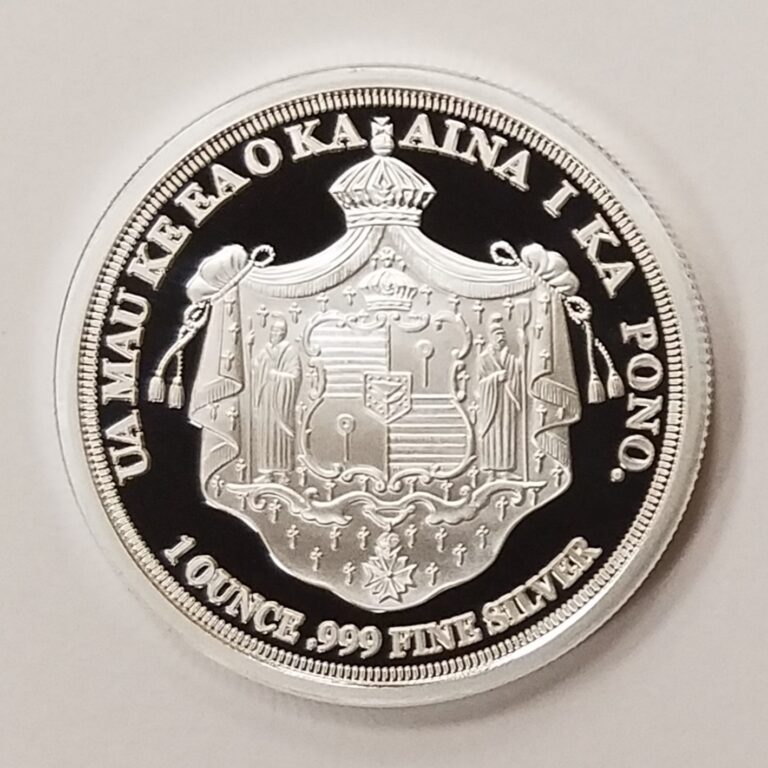Hawaiian Shield silver coin