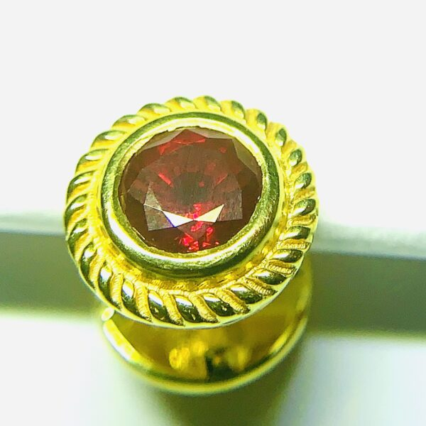 ruby tie pin