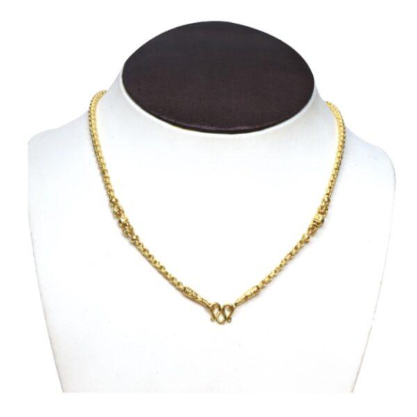23k gold chain1