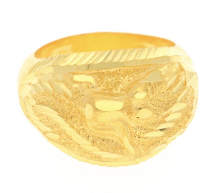 23k gold ring3