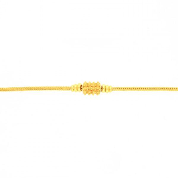 23k gold pendant bracelet