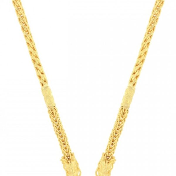23k gold design chain