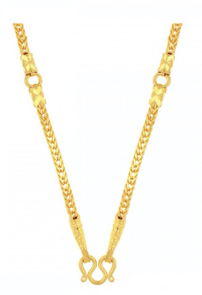 23k gold chain9