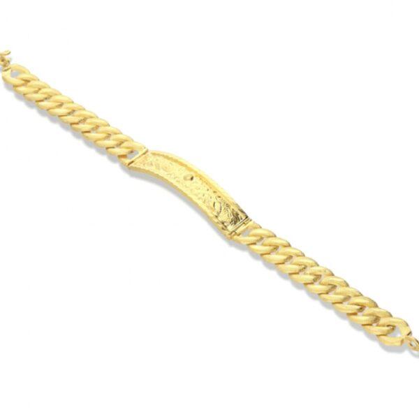 23k gold bracelet thick