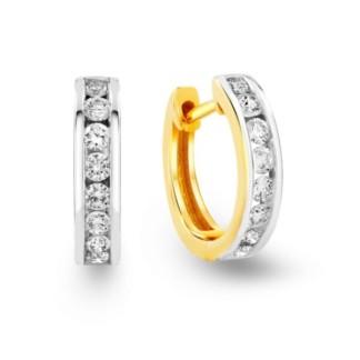 18k gold plated earrings
