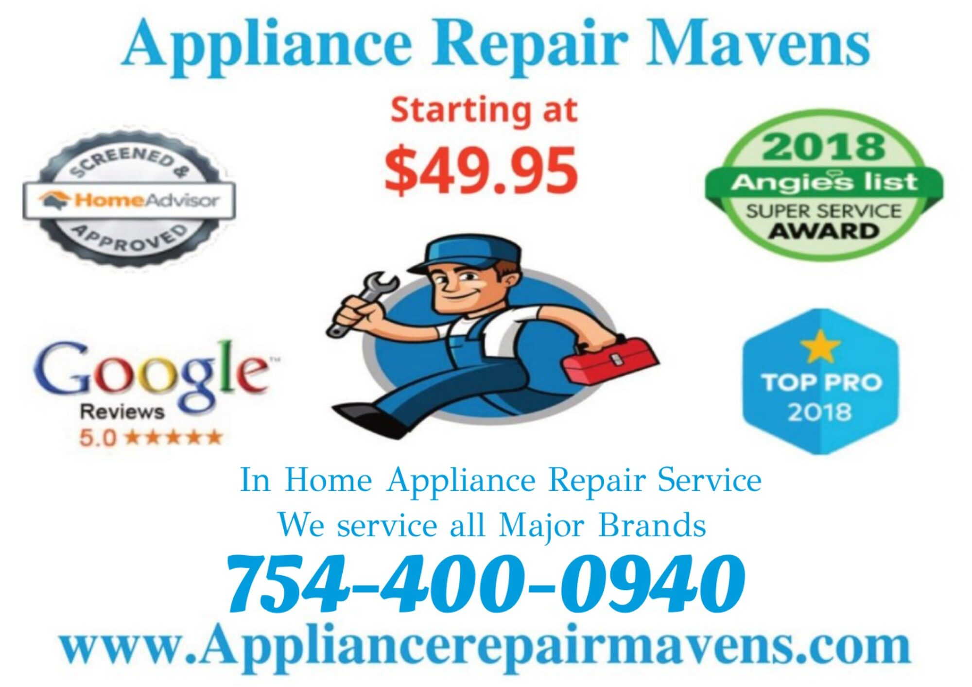 Appliance Repair Mavens of Broward County