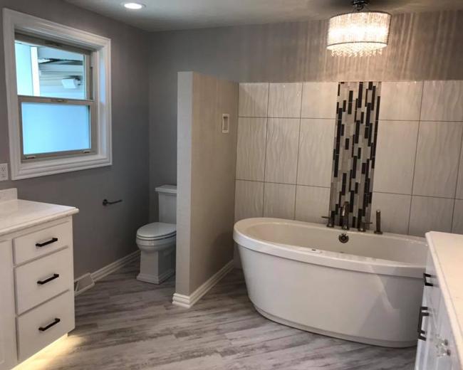 Custom bathroom design