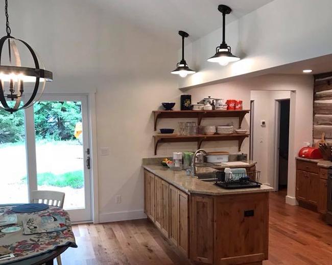 Custom kitchen bar