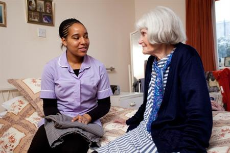 carer and patient web