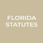 Link to list of Florida Statutes