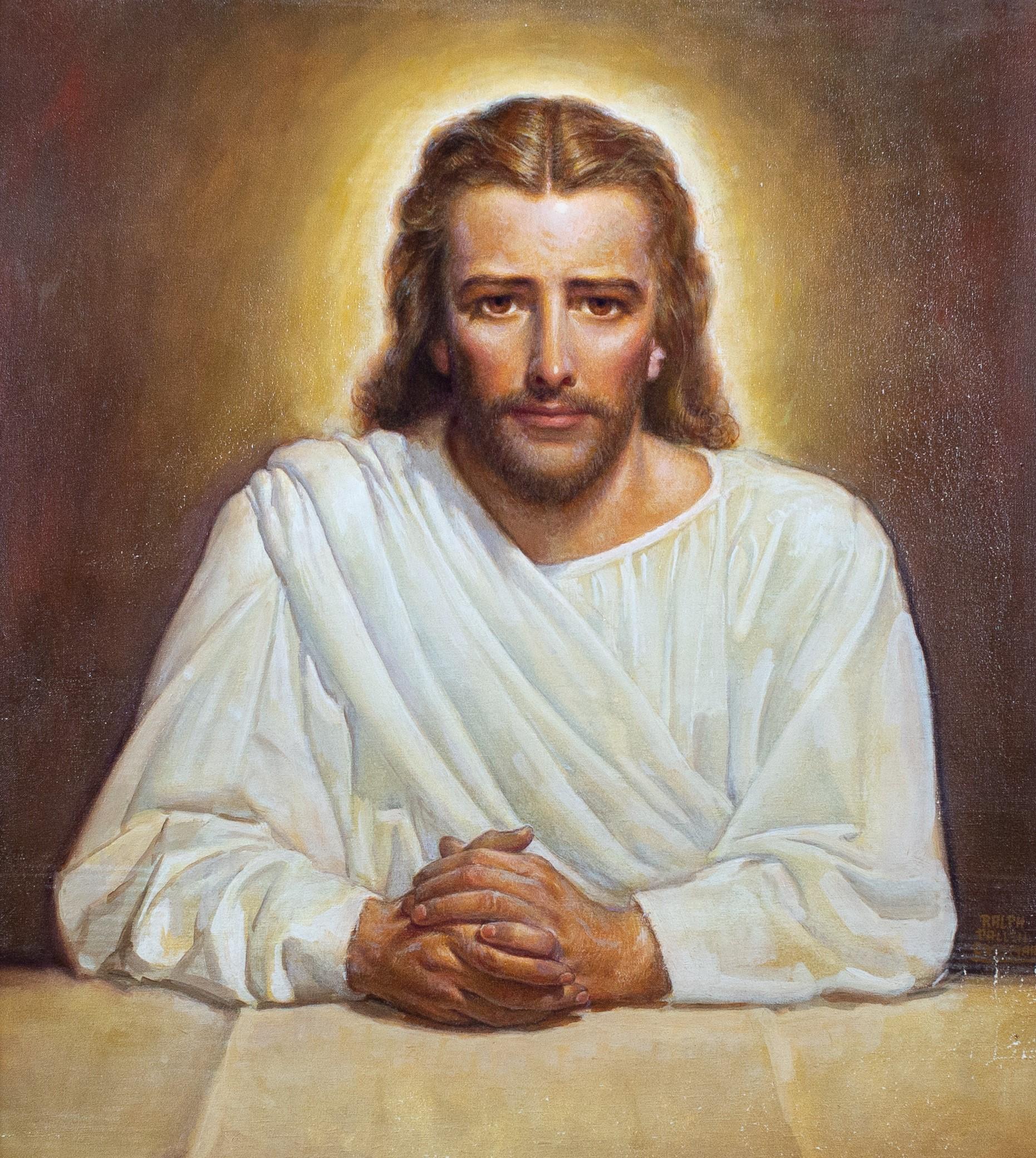 The Savior Christian Illustration by Ralph Pallen Coleman