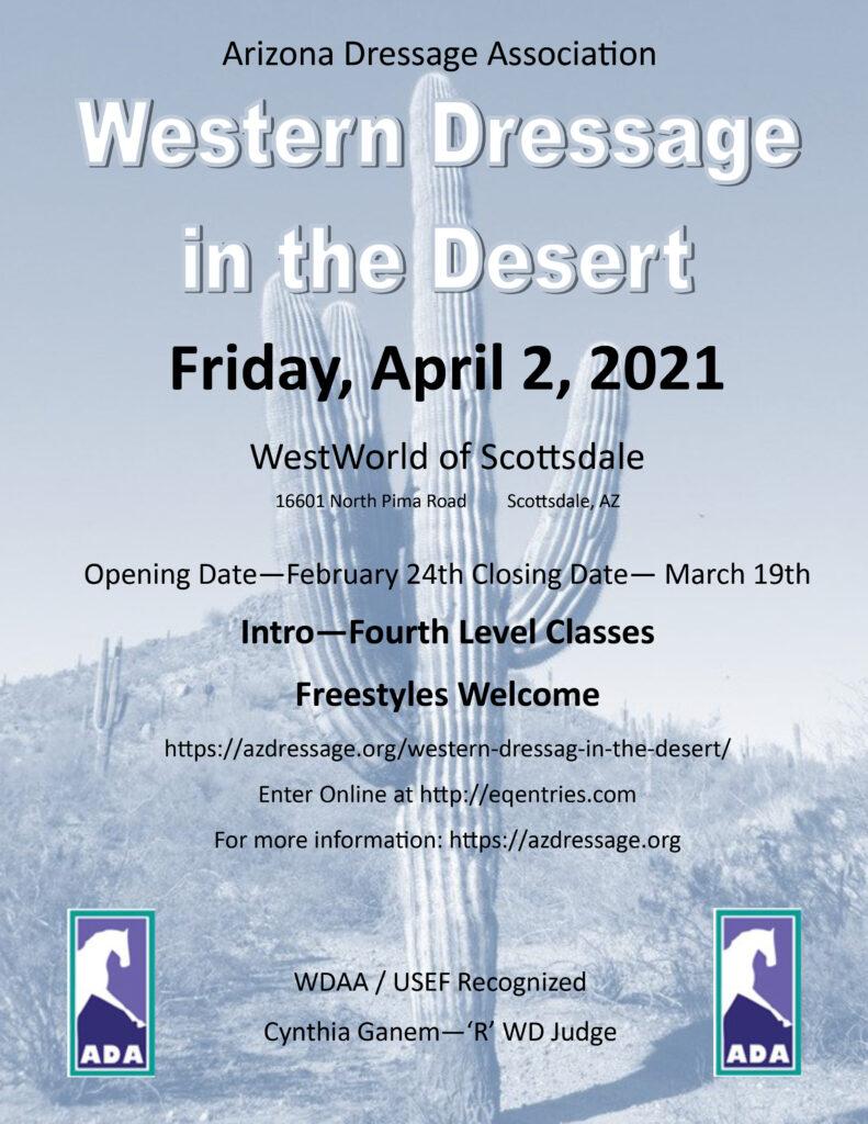 2021 ADA Western Dressage