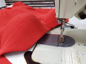 Corseted formal gown construction