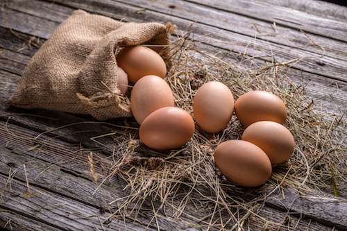 Eggs are one of the primary high protein foods you can eat.