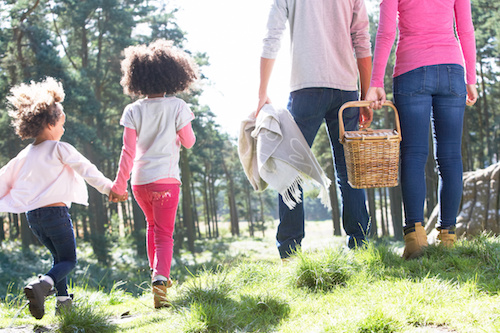 Have a healthy labor day by getting outdoors, doing some exercise and eating well.