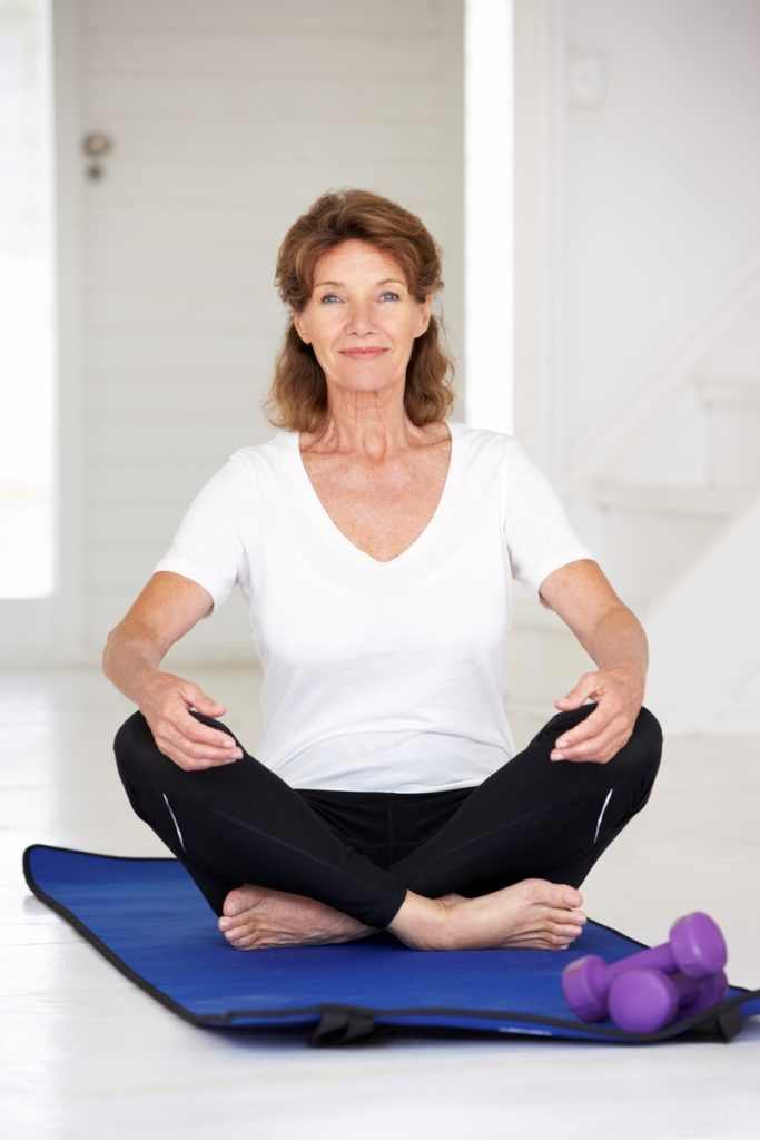 Yoga is one of the fitness workouts even seniors can do.