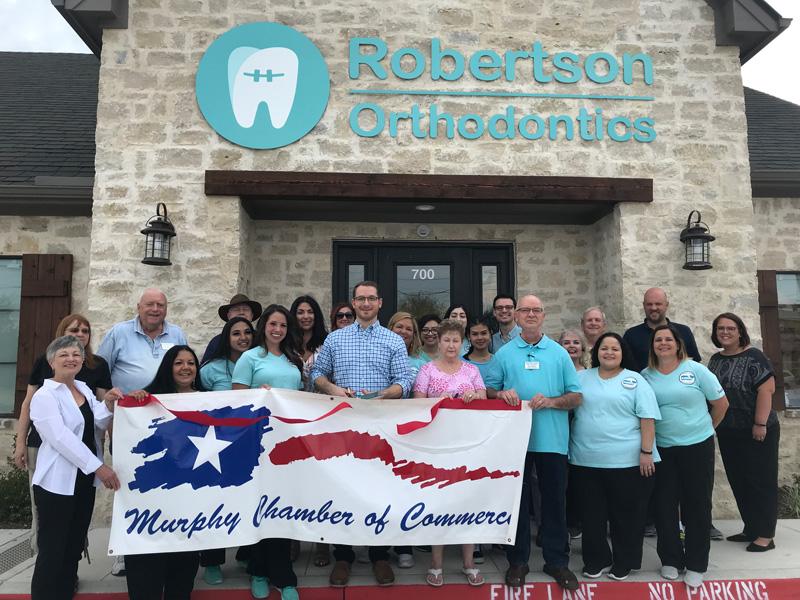 Robertson Orthodontics Ribbon Cutting