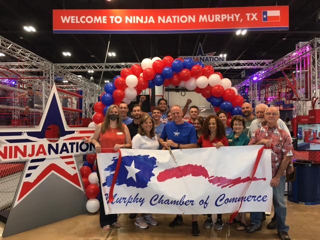 Ribbon Cutting:  Ninja Nation