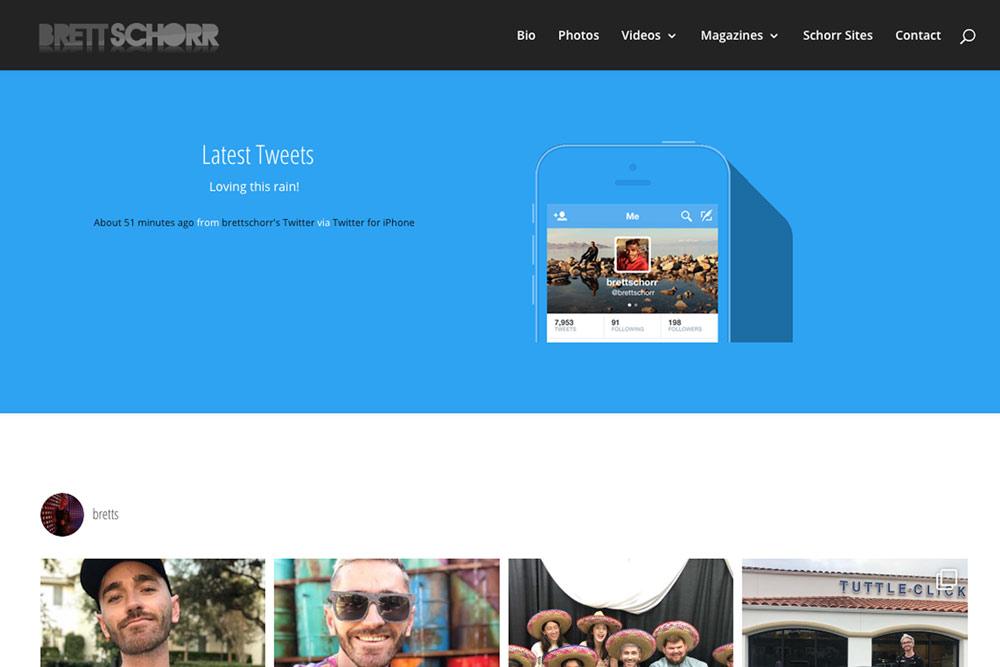 Brett Schorr Website