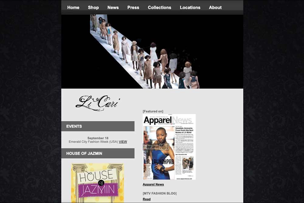 LiCari Website