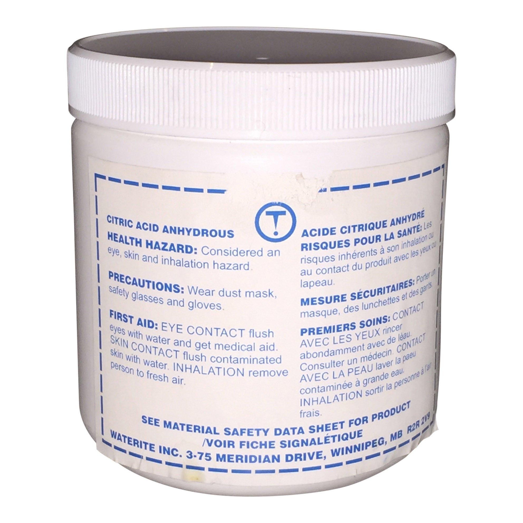 Citric Acid Tannin Filter Cleaner